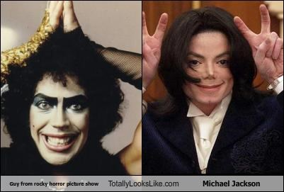 Guy from rocky horror picture show Totally Looks Like Michael Jackson