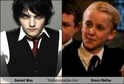 Gerard Way Totally Looks Like Draco Malfoy