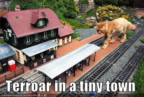 Terroar in a tiny town
