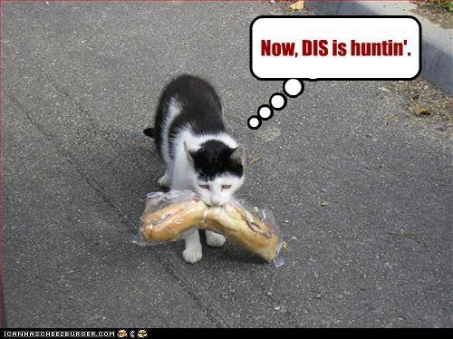 fud,hunting,nom nom nom,sandwich