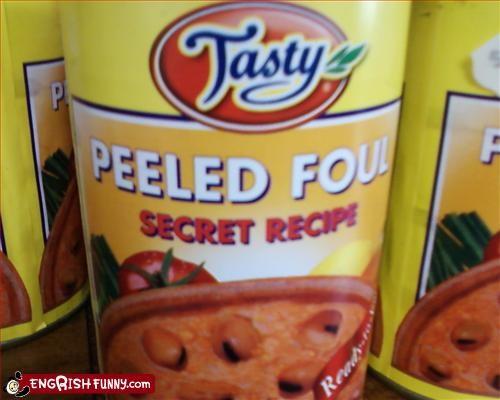 Peeled Foul