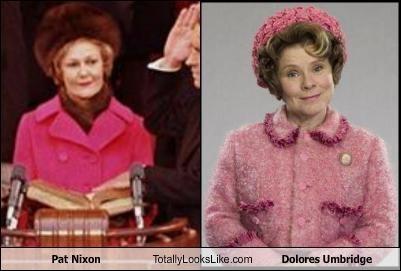 Pat Nixon Totally Looks Like Dolores Umbridge