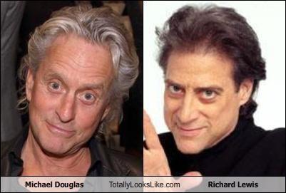 Michael Douglas Totally Looks Like Richard Lewis