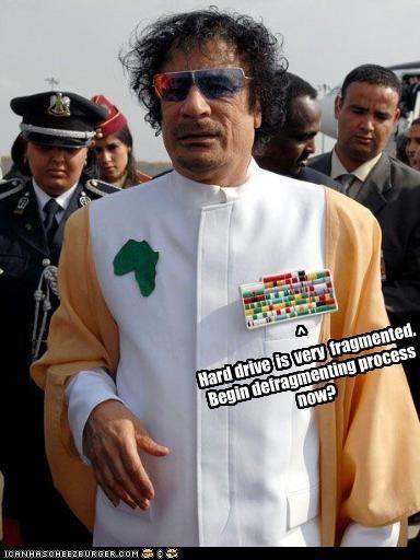 computers,dictator,hard drive,libya,muammar al-gaddafi