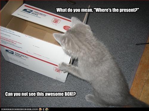 box,present