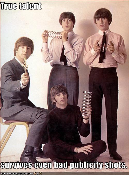 george harrison,john lennon,paul mccartney,publicity,ringo starr,talent,the Beatles