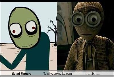 Salad Fingers Totally Looks Like 9