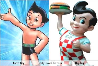 Astro Boy Totally Looks Like Big Boy
