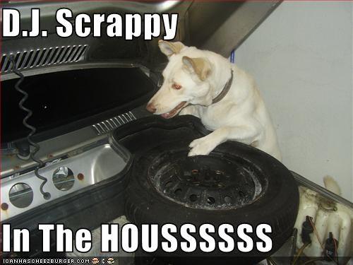 D.J. Scrappy  In The HOUSSSSSS