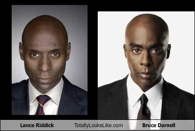 Lance Riddick Totally Looks Like Bruce Darnell
