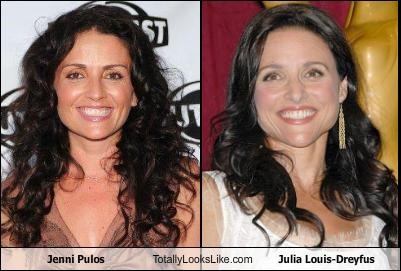 Jenni Pulos Totally Looks Like Julia Louis-Dreyfus