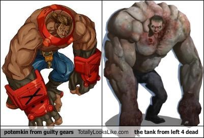guilty gears,Left 4 Dead,potemkin,video games