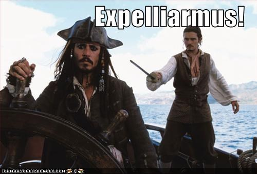 Harry Potter,Johnny Depp,orlando bloom,Pirates of the Caribbean,sci fi,wizards