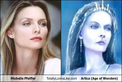actress,age of wonders,artica,michelle pfeiffer,video games