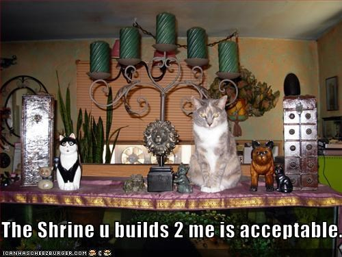 The Shrine u builds 2 me is acceptable.