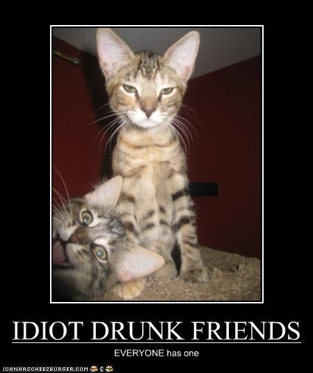 IDIOT DRUNK FRIENDS