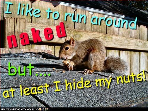 I like to run around