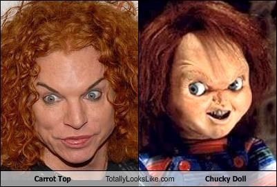 Carrot Top Totally Looks Like Chucky Doll