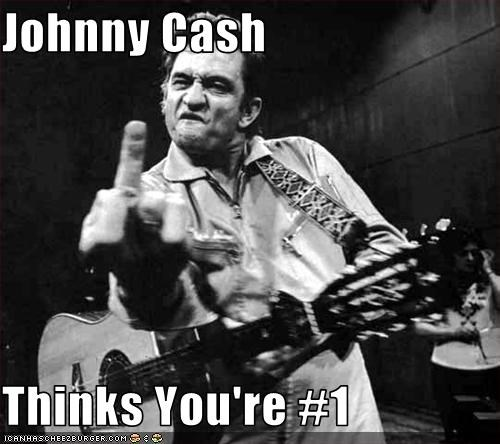 Johnny Cash  Thinks You're #1