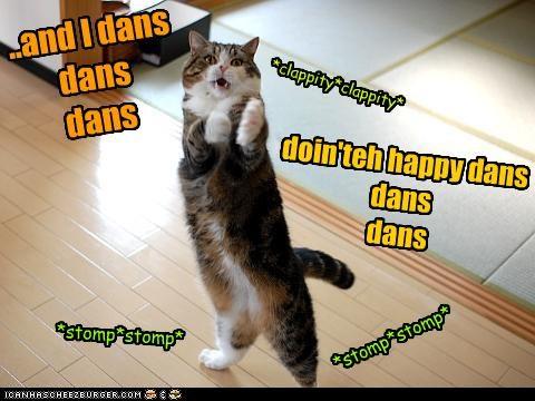 ..and I dans     dans  dans