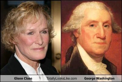 Glenn Close Totally Looks Like George Washington