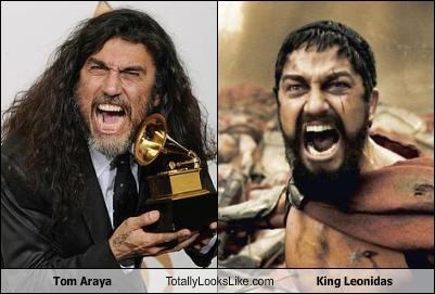 Tom Araya Totally Looks Like King Leonidas