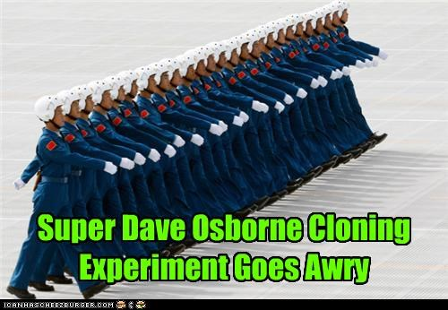 Super Dave Osborne Cloning Experiment Goes Awry