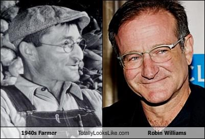 1940s Farmer Totally Looks Like Robin Williams