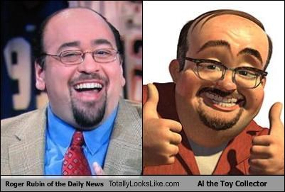 Roger Rubin of the Daily News Totally Looks Like Al the Toy Collector