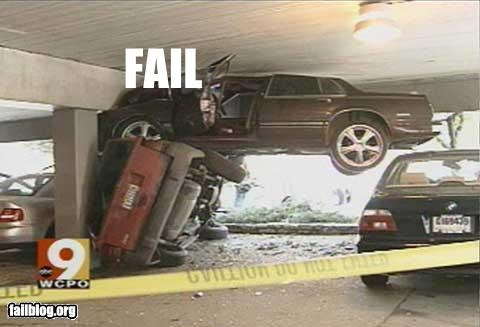 Car Crash fail