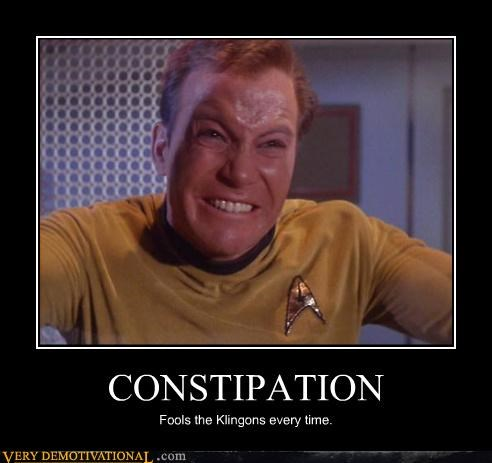 Captain Kirk,constipation,Star Trek,funny