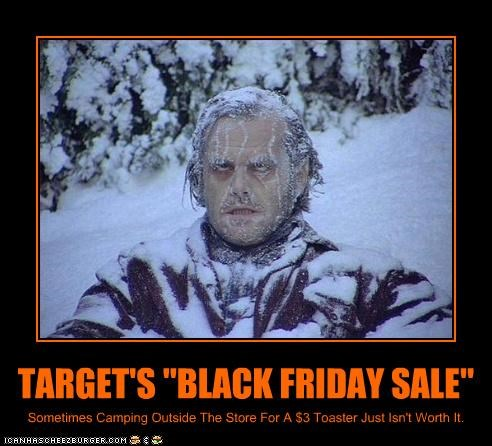 "TARGET'S ""BLACK FRIDAY SALE"""