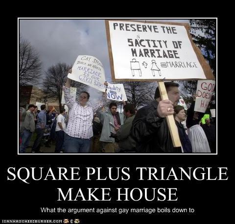 SQUARE PLUS TRIANGLE MAKE HOUSE