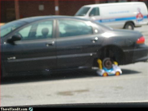 not intended use,not street legal,spare tire,toy,unsafe