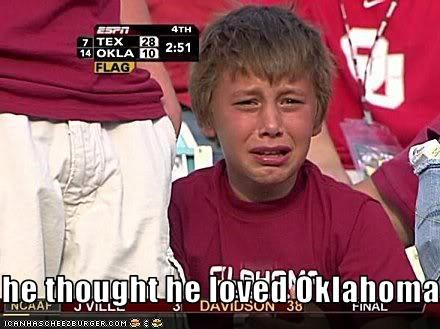 he thought he loved Oklahoma