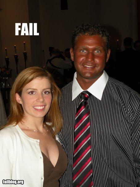 Tanning Fail