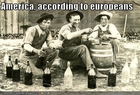 America, according to europeans
