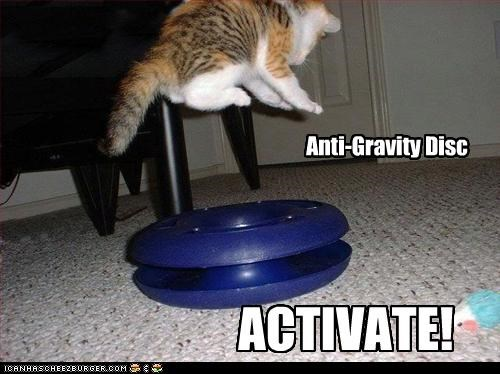 Anti-Gravity Disc