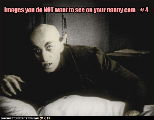 Images you do NOT want to see on your nanny cam    # 4