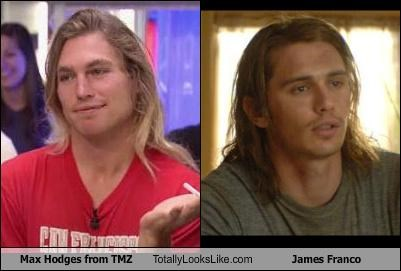 Max Hodges from TMZ Totally Looks Like James Franco