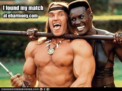 Arnold Schwarzenegger,Conan the Barbarian,dating,grace jones,politicians