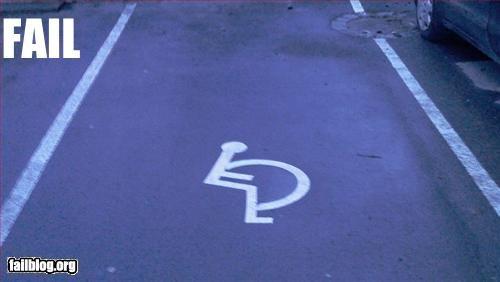 Handicap Fail