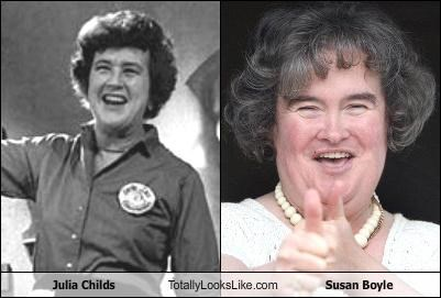 Julia Childs Totally Looks Like Susan Boyle