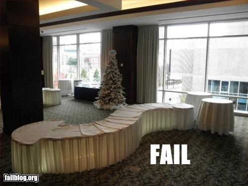 Table Set Up Fail