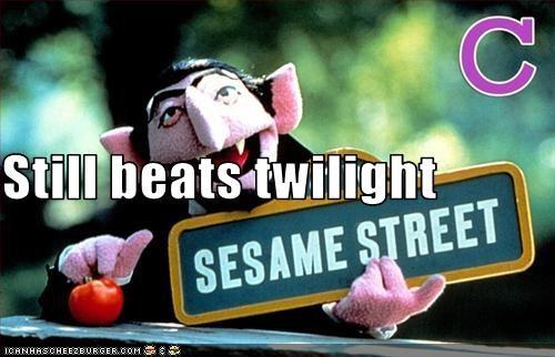 Still beats twilight