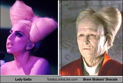 Lady GaGa Totally Looks Like Bram Stokers' Dracula