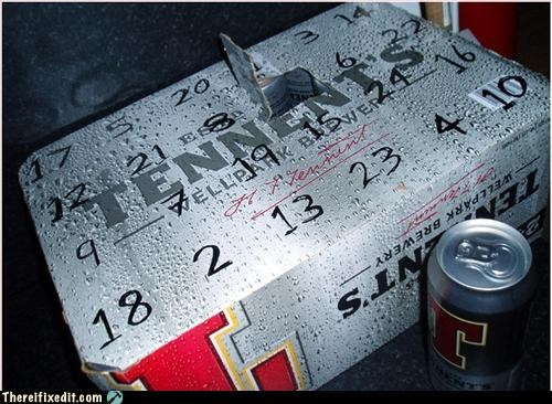 Cheap advent calendar