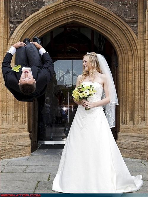 bride,groom,Male Cheerleader,surprise,swept off his feet,tricks,were-in-love,wtf