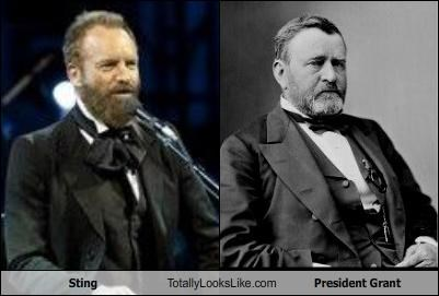 beards,Music,president,sting,ulysses-s-grant