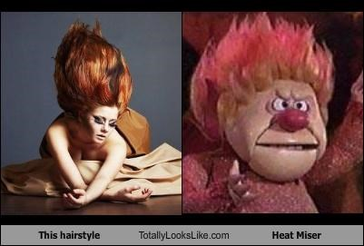This hairstyle Totally Looks Like Heat Miser